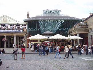 Covent Garden i London
